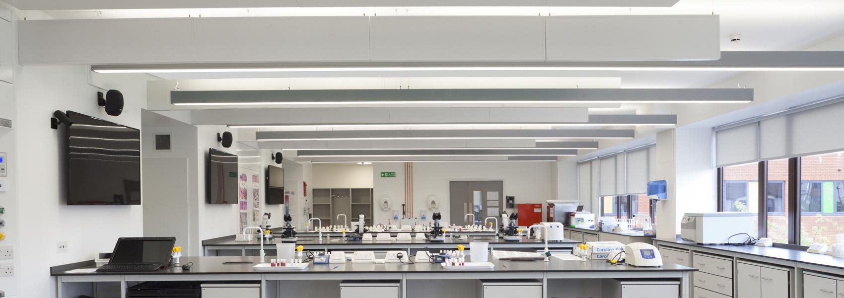 Fleming Building University Of Sunderland Hacel Lighting