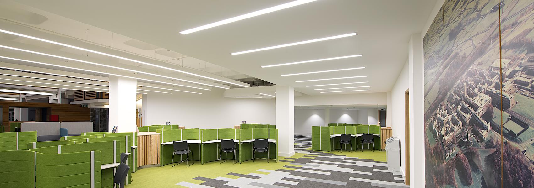 Lancaster University Library Architects Gilling Dod